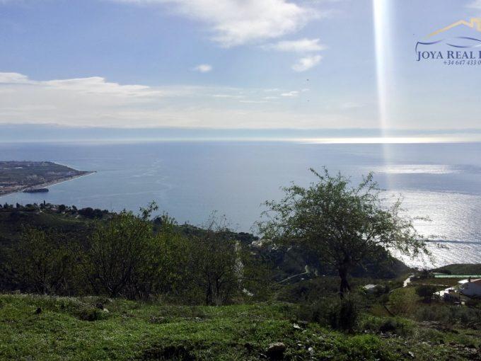 PARCELA DE 16.000M2 CON CORTIJO EN ALFAMAR Y PANORÁMICAS VISTAS AL MAR